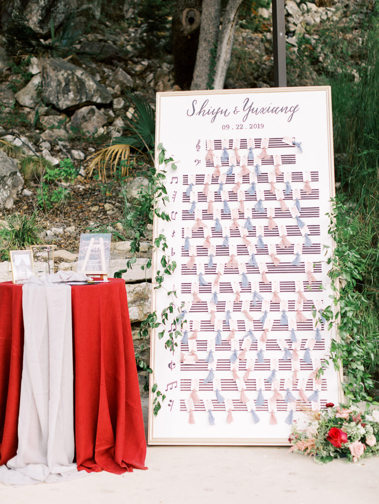 seating arrangement seating chart etiquette 101 by CalliRosa San Antonio Calligrapher