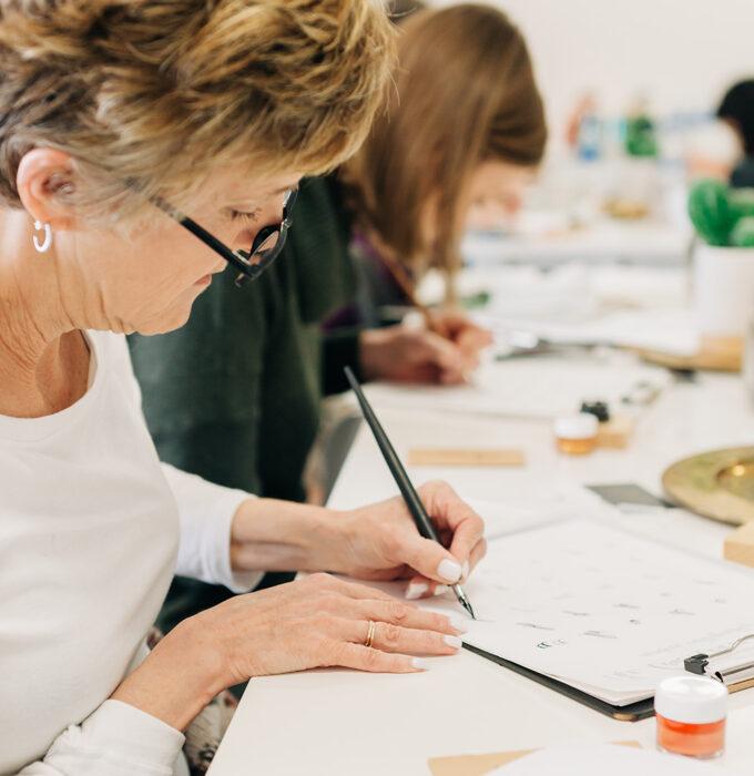 Virtual Workshops by CalliRosa San Antonio Calligrapher